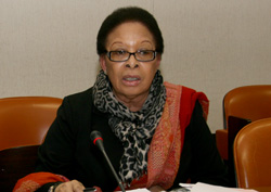 ACP Chair of the Committee of Ambassadors Shirley Skerritt-Andrew